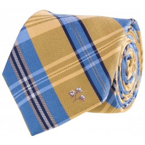 Cotton Tie: Gold